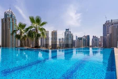 Studio for Sale in Dubai Marina, Dubai - Pool&Community View. Jumeirah living.