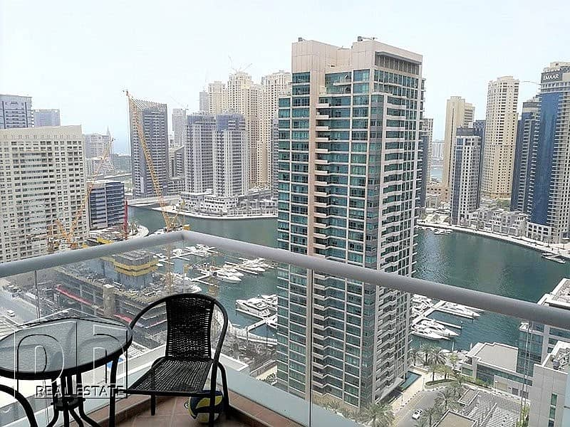 Furnished 2 Bed / Marina View / Available Now