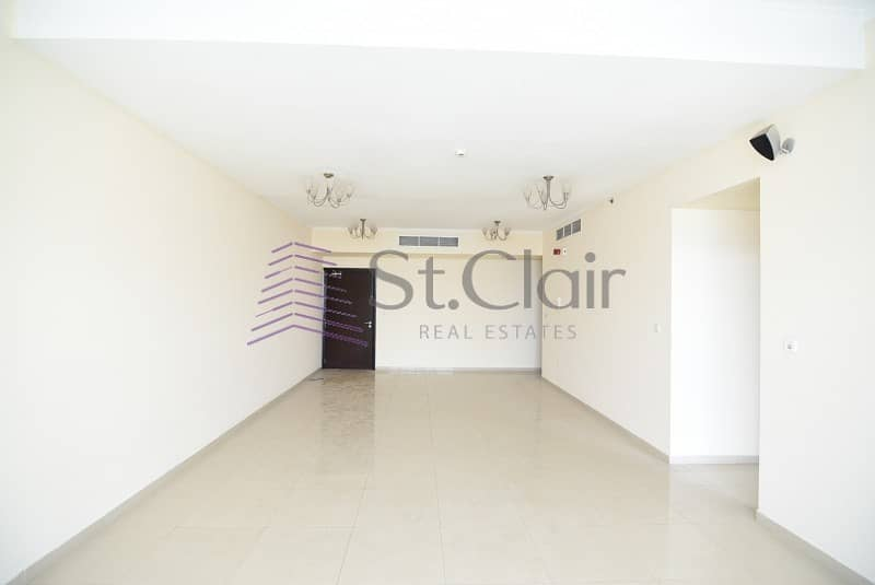 2 Chiller Free 2 Beds with large Balcony | Mid Floor
