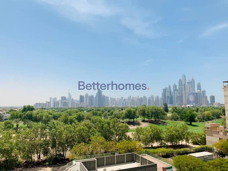 2 Golf Course View | Unfurnished | Maids