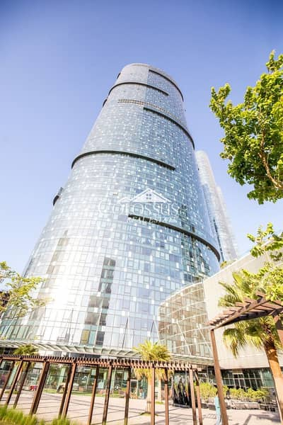 Office for Sale in Al Reem Island, Abu Dhabi - Great Investment: Semi Fitted Office ; Four Parking Spaces