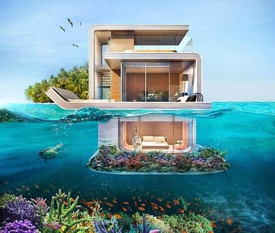 2 Bedroom Villa for Sale in The World Islands, Dubai - Dwell in Serenity | Underwater Villa | 100% ROI for 12 years