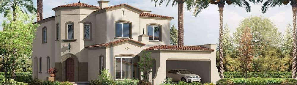 فیلا 7 غرفة نوم للبيع في المرابع العربية، دبي - فيلا فاخرة على الطراز الإسباني مع ميزات رائعة