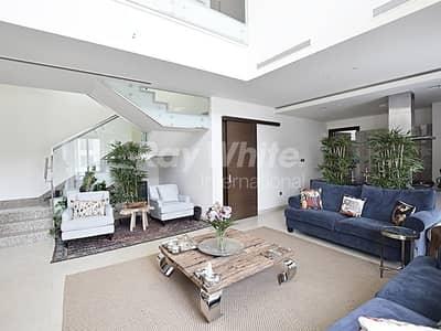 4 Bedroom Flat for Sale in Mohammad Bin Rashid City, Dubai - Beautiful 4 BR Duplex w/ Pool & Garden View