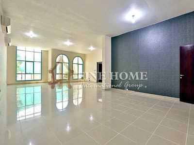 فیلا 5 غرفة نوم للايجار في آل نهيان، أبوظبي - Huge & Lush 5MBR Villa