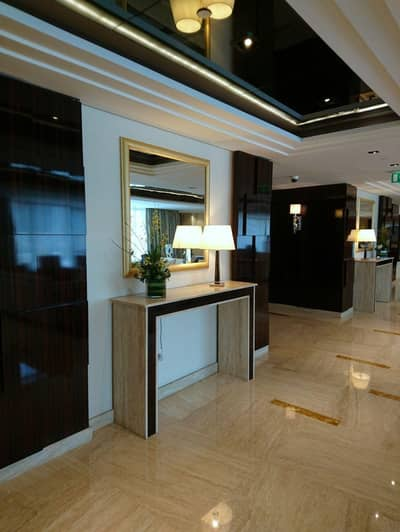 Studio for Rent in Business Bay, Dubai - Studio canal view 19th floor fully furnished Damac hotel apartment