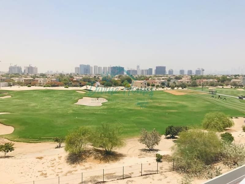 2 Large one Bedroom |Golf Course Facing |  Closed Kitchen | large  balcony 13 Months  contract
