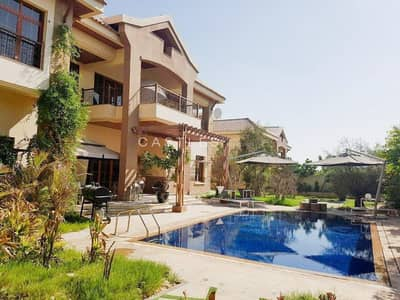 5 Bedroom Villa for Rent in Jumeirah Islands, Dubai - Ready To Move In- 5 bed+maids- Mansions in Jumeirah Islands