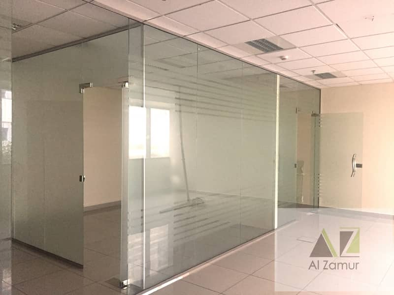 FITTED OFFICE IN DIP NEAR NMC HOSPITAL | Bayut com