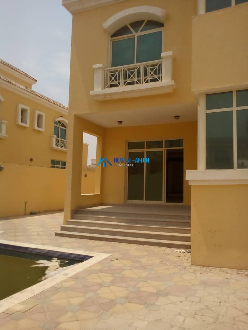 35 5 Bedroom pvt VILLA with (Pool+Driver room) MBZ City