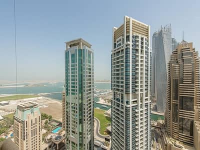 1 Bedroom Flat for Rent in Dubai Marina, Dubai - Large 1 Bedroom apt. Fully Furnished, In Botanica