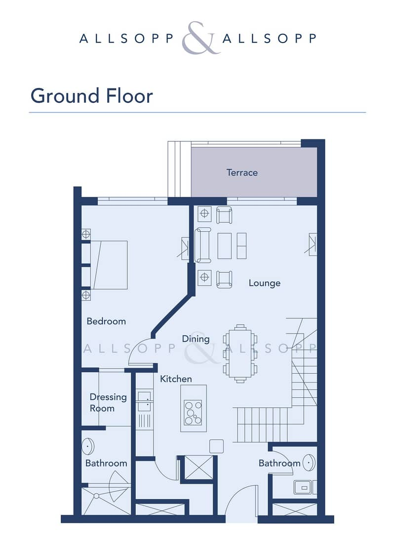 10 Large 2 Bedroom   Duplex Apartment   VOT