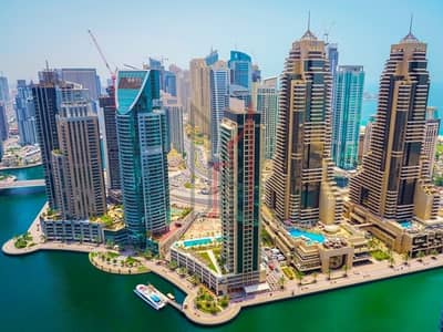 1 Bedroom Flat for Rent in Dubai Marina, Dubai - Stunning Marina View | Furnished and a Luxury home