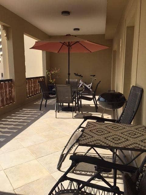 شقة في شقق الحمراء فيليج مارينا قرية الحمراء 1 غرف 475000 درهم - 4260742