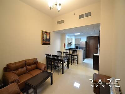 1 Bedroom Apartment for Sale in Dubai Sports City, Dubai - Rented I Fully Furnished I Facing Golf Course and Pool