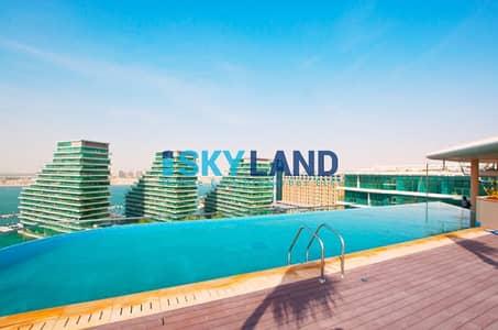 2 Bedroom Apartment for Sale in Al Raha Beach, Abu Dhabi - Breathtaking Full Sea View ! Huge Layout w/ Balcony
