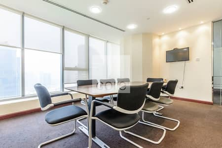 Office for Rent in Jumeirah Lake Towers (JLT), Dubai - Fully Fitted Office | Mid Floor | Freezone