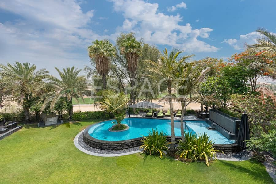 2 Huge Private Plot with One of a Kind Pool