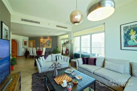 3 Bedroom Apartment for Sale in Palm Jumeirah, Dubai - 3 Bed | Maids | Full Sea View | High Floor