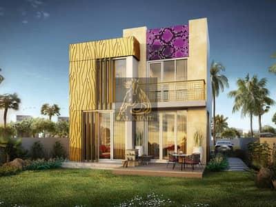 فیلا 3 غرفة نوم للبيع في أكويا أكسجين، دبي - Fashionable collection of luxury villas with interior design by just Cavali