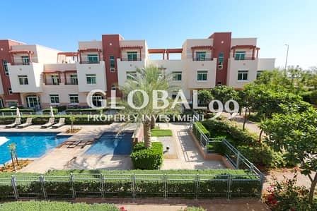 1 Bedroom Flat for Rent in Al Ghadeer, Abu Dhabi - Relaxed & Private Living W/ Terrace & 4 Payments.