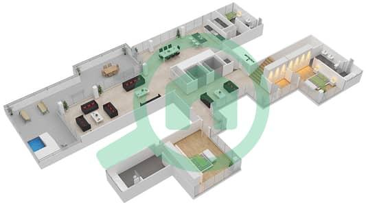 Seventh Heaven - 4 Bedroom Apartment Type 1 DUPLEX VERSION 1 Floor plan