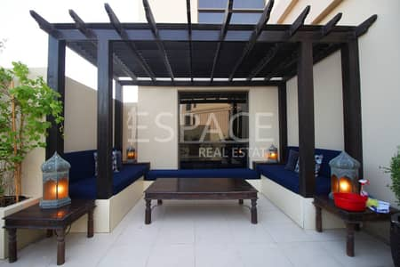 2 Bedroom Apartment for Rent in Jumeirah Beach Residence (JBR), Dubai - Fully Furnished Apartment |  Terrace in JBR