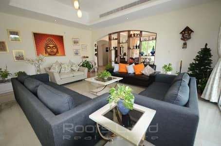 5 Bedroom Villa for Rent in The Villa, Dubai - Mazaya Corner 5bed Villa/pool in Courtyard 7 Aldea