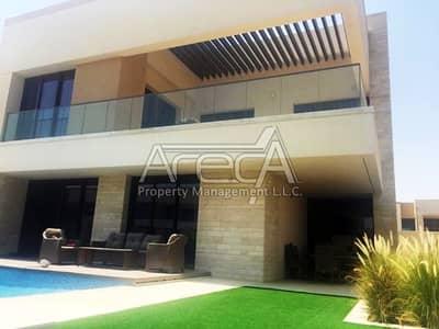 فیلا 5 غرفة نوم للبيع في جزيرة السعديات، أبوظبي - Best Deal! Modern 5 Bedroom Villa in HIDD Al Saadiyat | Landscaped garden