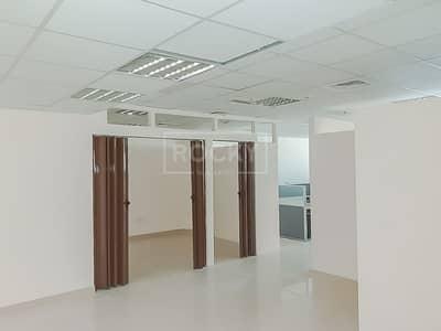 مکتب  للايجار في واحة دبي للسيليكون، دبي - Chiller Free | Spacious | Fitted Office | Silicon Oasis
