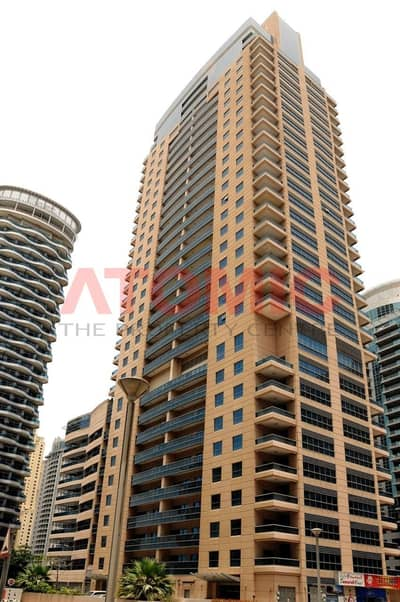 1 Bedroom Apartment for Rent in Dubai Marina, Dubai - Large 1 Bed ! With Kitchen Appliance ! Huge balcony