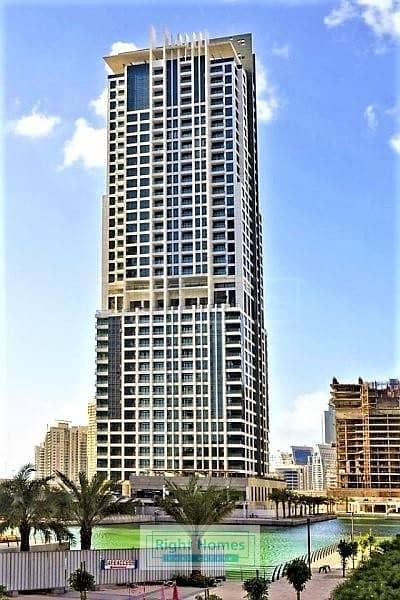 شقة 1 غرفة نوم للبيع في مدينة دبي للإنتاج، دبي - SPACIOUS 1 BR- LOW FLOOR - LAKESIDE TOWER A
