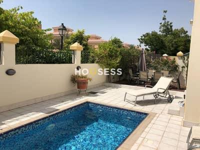 5 Bedroom Villa for Rent in The Villa, Dubai - Luxury 5 BR Custom Villa - Private Pool - Vacant