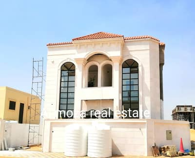 5 Bedroom Villa for Sale in Al Yasmeen, Ajman - Freehold 5 Master Bedroom Modern Villa For Sale In Sheikh Mohammad Bin Zayed Road .