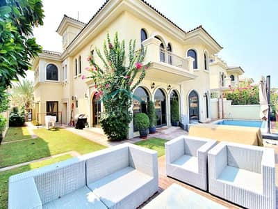 5 Bedroom Villa for Rent in Palm Jumeirah, Dubai - 5 Bed - Atrium Entry - Mid number - Frond C