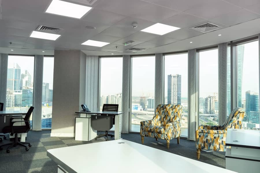 210 SQFT Fully Furnished Office Space- No Commission
