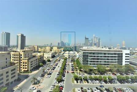 Office for Sale in The Greens, Dubai - Newest Building in SZR with Stunning View