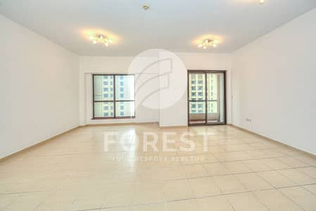 3 Bedroom Apartment for Sale in Jumeirah Beach Residence (JBR), Dubai - Courtyard View   3BR + Maids   Vacant on Transfer