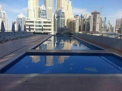 شقة في برج دي إي سي 1 برج دي إي سي دبي مارينا 1 غرف 55000 درهم - 4265105