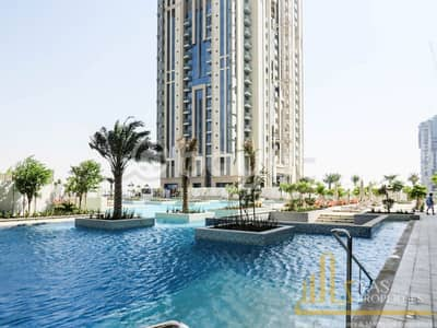 3 Bedroom Flat for Rent in Business Bay, Dubai - Large Brand New 3BR | Maids room | Bur Al Arab & Canal view