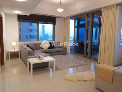 2 Bedroom Apartment for Rent in Dubai Marina, Dubai - 2 Bed With Study Storage Laundry  Chiller Free