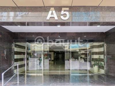 شقة 3 غرف نوم للايجار في عجمان وسط المدينة، عجمان - متوفر ثلاث غرفة وصاله للإيجار في ابراج لؤلؤة عجمان - بمنطقة الراشدية  -  1  -