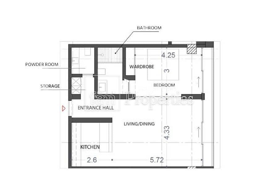 11 Spacious 1BR Apartment | KOA Canvas