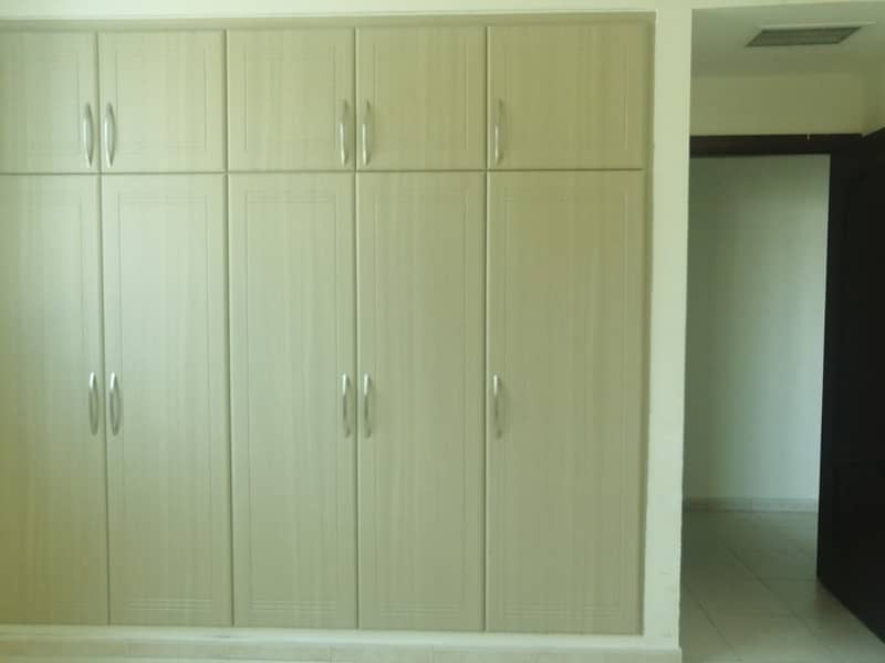 Awesome 2 bhk apartment with wardrobes in best price