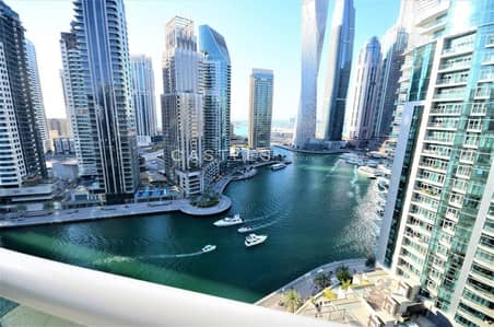 3 Bedroom Apartment for Sale in Dubai Marina, Dubai - Exclusive | Vacant Big 3 Bed | Marina View