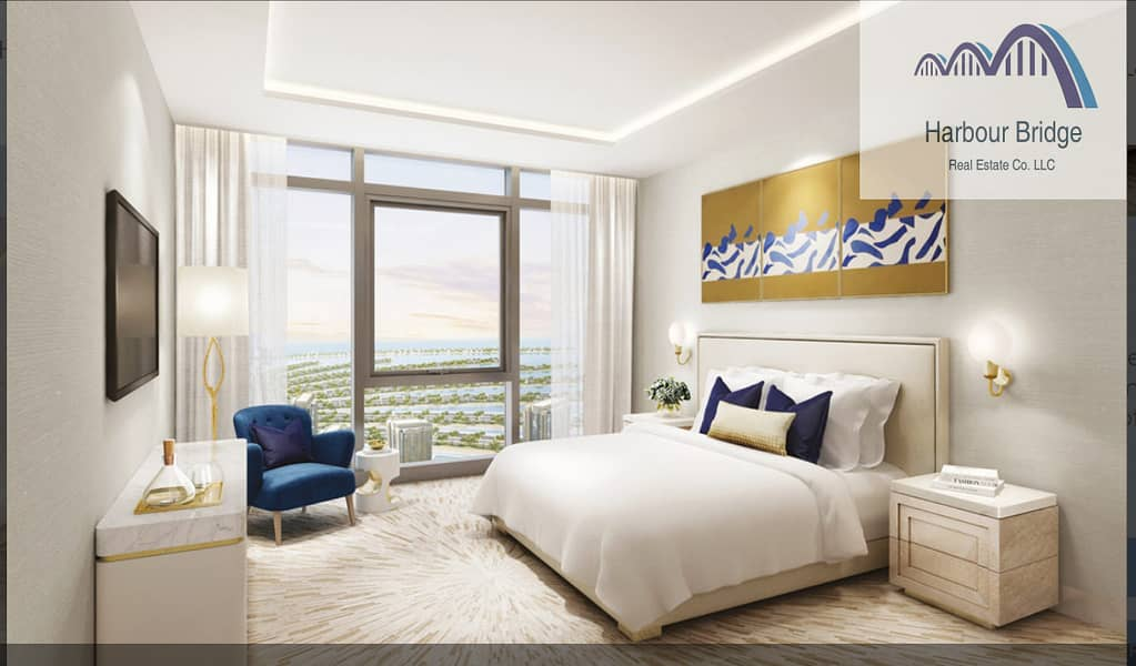 Amazing Studio -7years Payment Plan-  The Palm Tower
