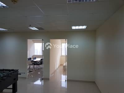 Office for Rent in Jumeirah Lake Towers (JLT), Dubai - Ready Furnished Fitted Office Near Metro