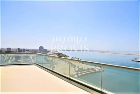 3 Bedroom Penthouse for Rent in Al Raha Beach, Abu Dhabi - Experience luxurious waterfront living in Bandar