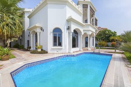 4 Bedroom Villa for Sale in Palm Jumeirah, Dubai - Vacant and High Number 4 Bedroom for Sale