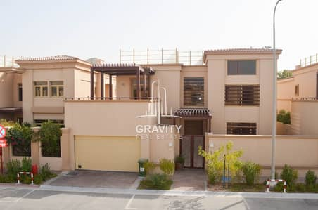 3 Bedroom Townhouse for Sale in Al Raha Golf Gardens, Abu Dhabi - Own and live in this 3BR townhouse in Jouri with maidsroom